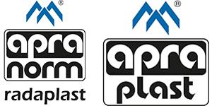 Logos apraplast und radaplast