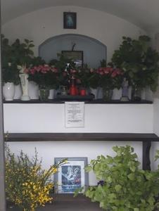 Innenansicht Heiligenhäuschen Pützborn